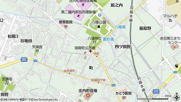 山形県東田川郡庄内町余目町220周辺の地図