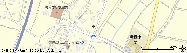山形県酒田市黒森鏥27周辺の地図