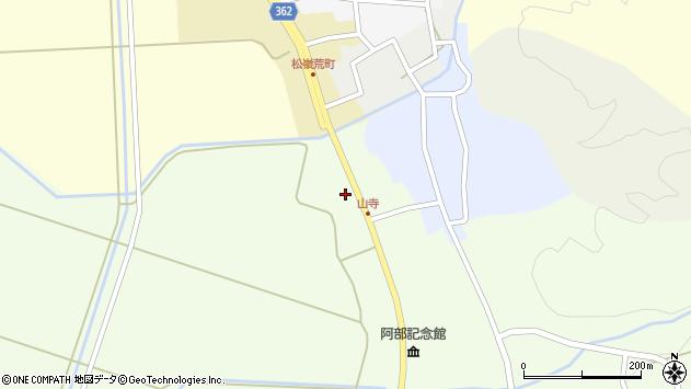 山形県酒田市山寺宅地240周辺の地図