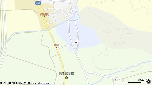 山形県酒田市南新屋敷42周辺の地図