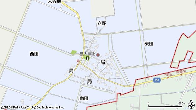 山形県酒田市局局32周辺の地図