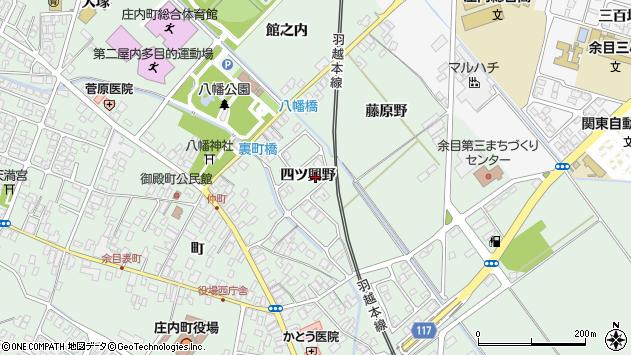 山形県東田川郡庄内町余目四ツ興野113周辺の地図