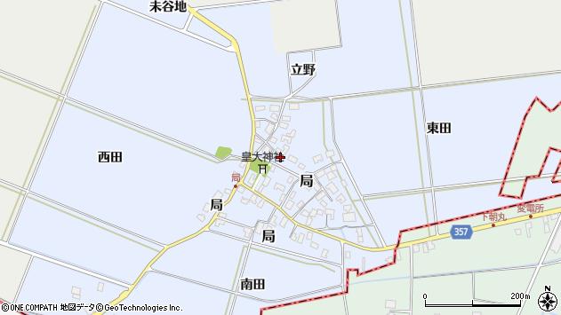 山形県酒田市局局43周辺の地図