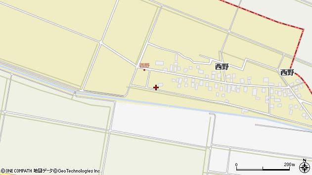 山形県東田川郡庄内町西野西野131周辺の地図