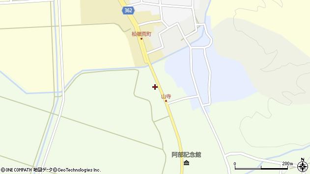 山形県酒田市山寺宅地245周辺の地図