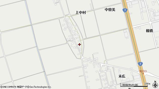 山形県酒田市広野上中村79周辺の地図