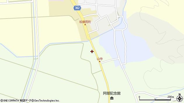 山形県酒田市山寺宅地249周辺の地図