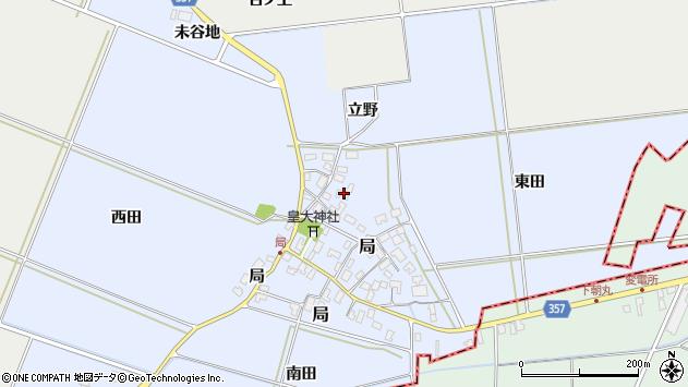 山形県酒田市局局42周辺の地図