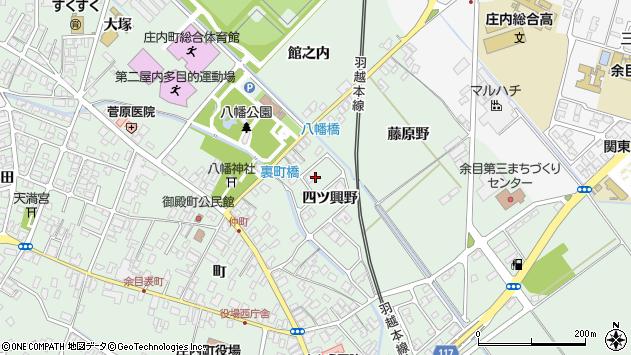 山形県東田川郡庄内町余目四ツ興野87周辺の地図