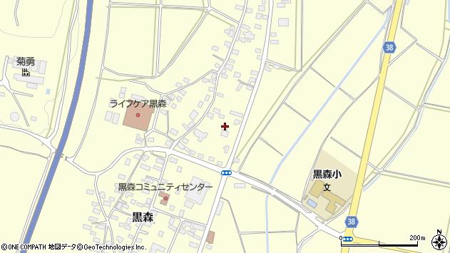 山形県酒田市黒森鏥30周辺の地図