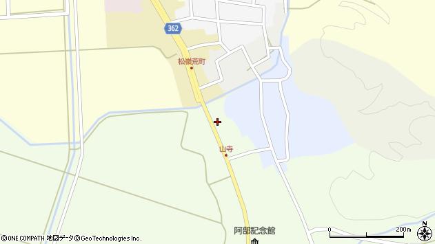 山形県酒田市山寺宅地251周辺の地図