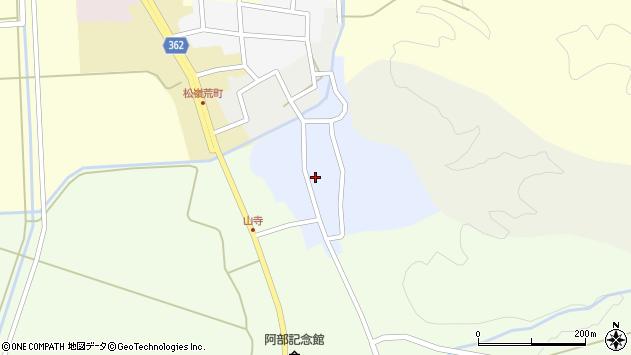 山形県酒田市南新屋敷50周辺の地図