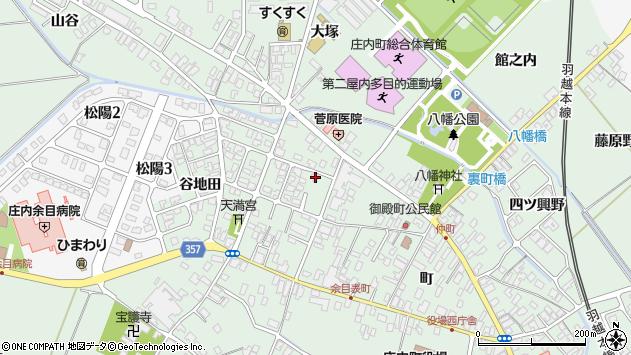 山形県東田川郡庄内町余目町200周辺の地図
