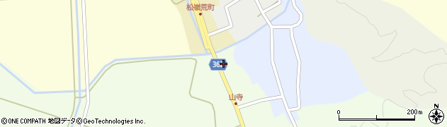 山形県酒田市山寺宅地257周辺の地図