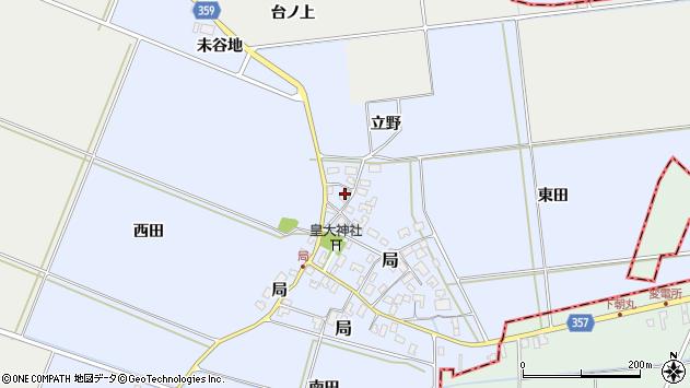 山形県酒田市局局49周辺の地図