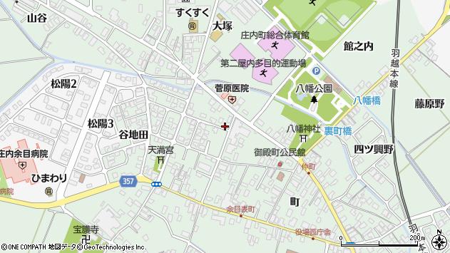 山形県東田川郡庄内町余目町259周辺の地図