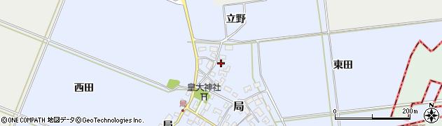 山形県酒田市局局41周辺の地図