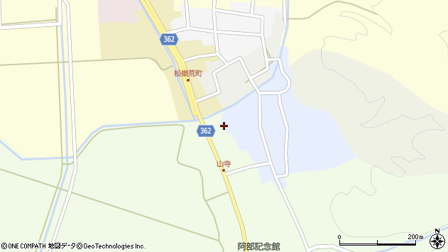 山形県酒田市南新屋敷80周辺の地図
