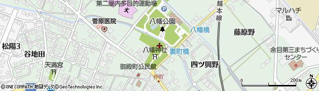 山形県東田川郡庄内町余目御殿町周辺の地図