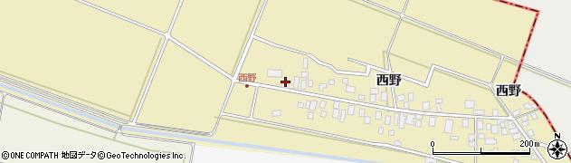 山形県東田川郡庄内町西野西野124周辺の地図