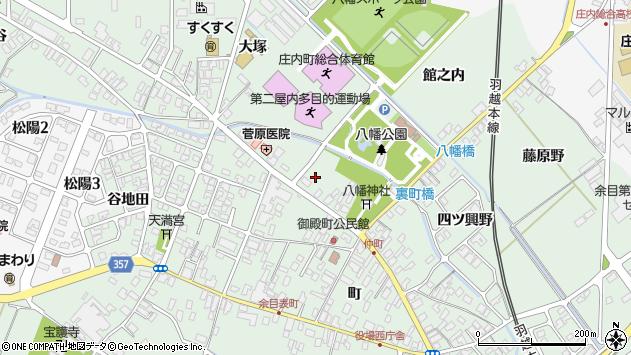 山形県東田川郡庄内町余目町244周辺の地図