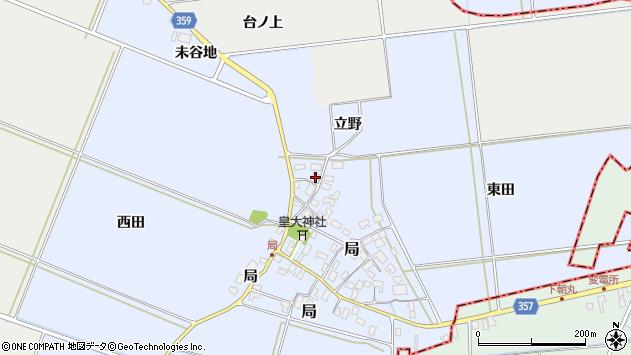 山形県酒田市局局48周辺の地図