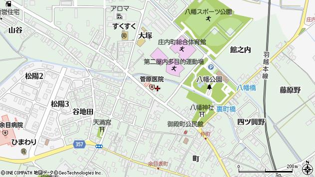 山形県東田川郡庄内町余目町266周辺の地図