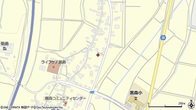 山形県酒田市黒森谷地中41周辺の地図