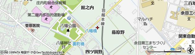 山形県東田川郡庄内町余目藤原野56周辺の地図