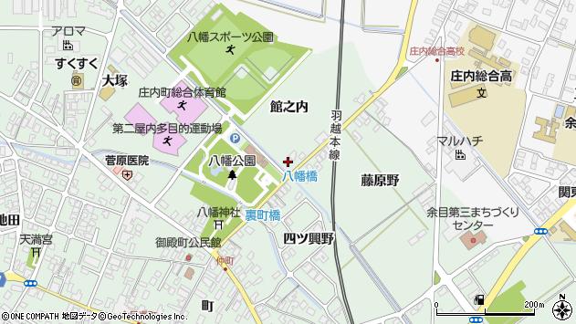 山形県東田川郡庄内町余目館之内61周辺の地図