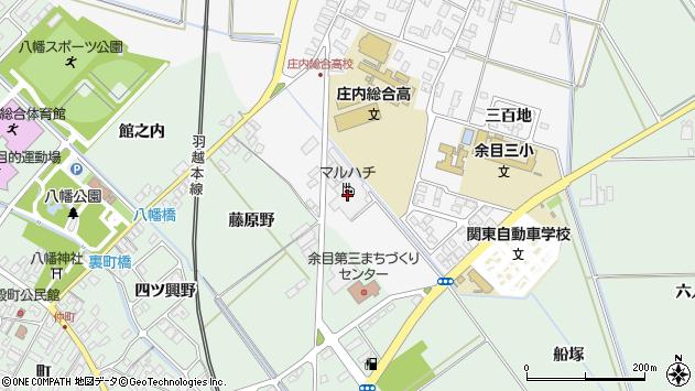 山形県東田川郡庄内町廿六木五反田周辺の地図