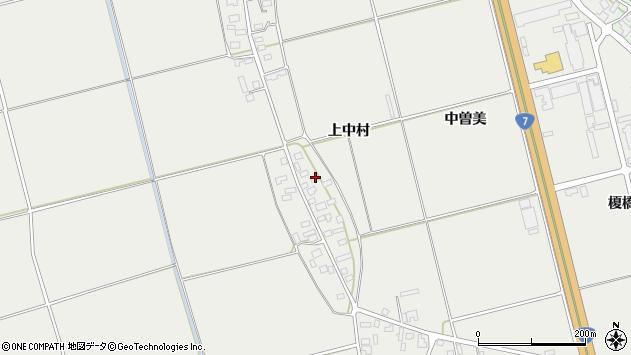 山形県酒田市広野上中村69周辺の地図