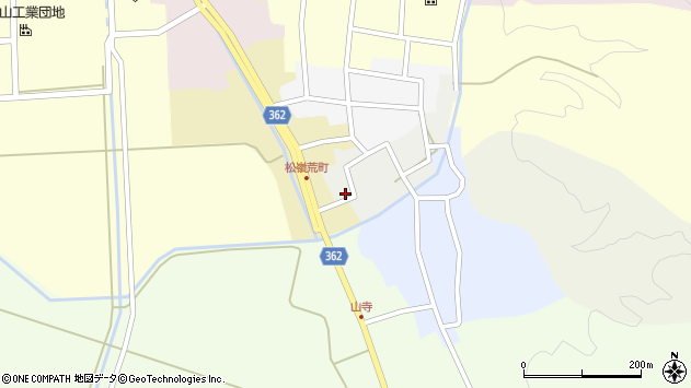 山形県酒田市元新屋敷17周辺の地図