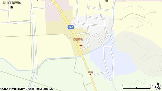 山形県酒田市荒町6周辺の地図