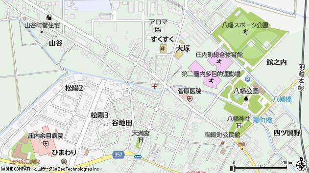 山形県東田川郡庄内町余目町289周辺の地図