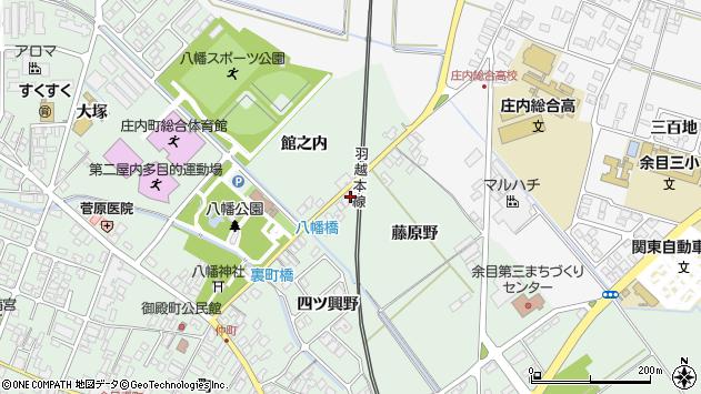 山形県東田川郡庄内町余目藤原野26周辺の地図