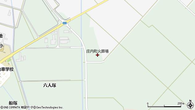 山形県東田川郡庄内町余目石沢周辺の地図