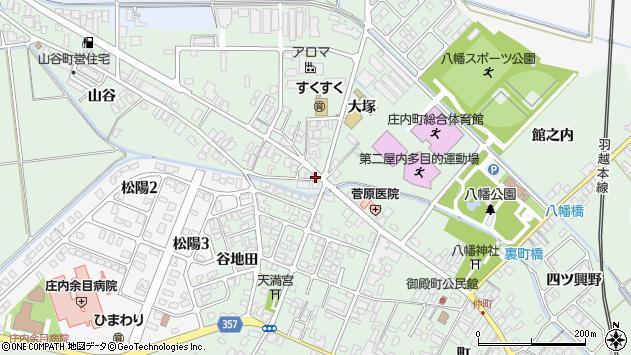 山形県東田川郡庄内町余目大塚75周辺の地図