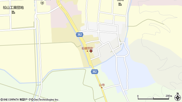 山形県酒田市荒町7周辺の地図