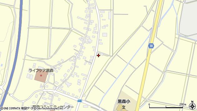 山形県酒田市黒森鏥48周辺の地図