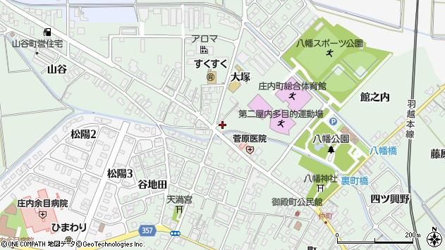 山形県東田川郡庄内町余目大塚72周辺の地図