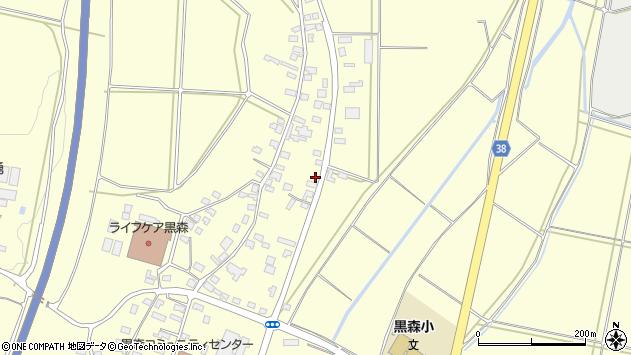 山形県酒田市黒森鏥49周辺の地図