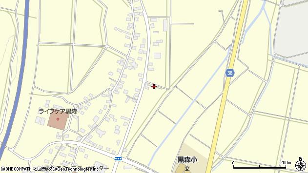 山形県酒田市黒森鏥50周辺の地図