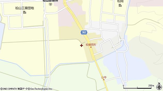 山形県酒田市荒町91周辺の地図