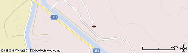 山形県酒田市山元三栗谷7周辺の地図
