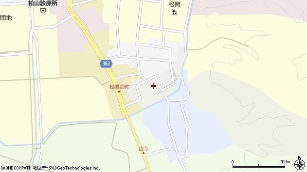 山形県酒田市元新屋敷21周辺の地図