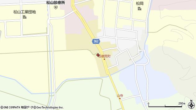 山形県酒田市荒町58周辺の地図