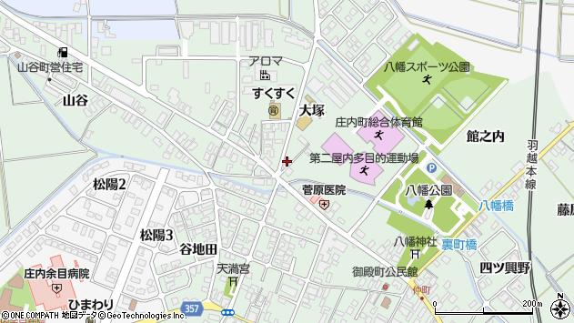 山形県東田川郡庄内町余目大塚73周辺の地図