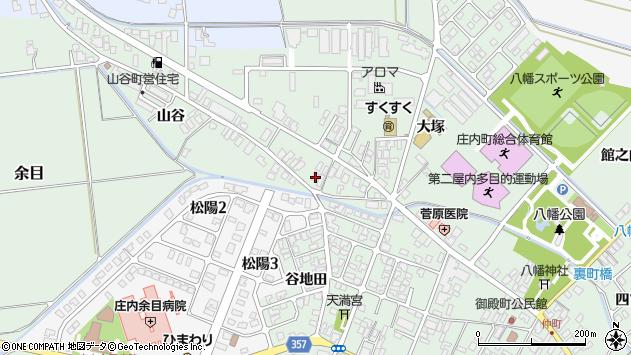 山形県東田川郡庄内町余目大塚85周辺の地図