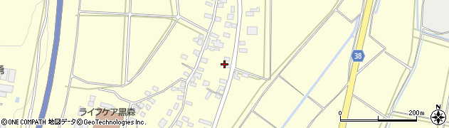 山形県酒田市黒森谷地中53周辺の地図